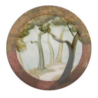 Handmade Rimmed Dish-Wildwood