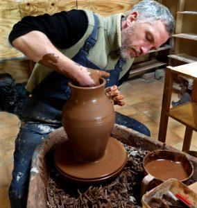 artisan pottery near me, handpainted pottery, shropshire pottery